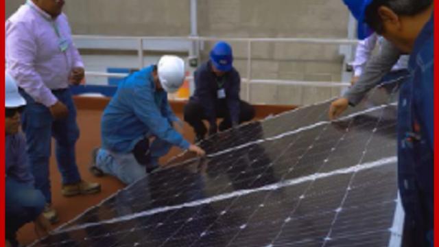 Capacitación para la instalación de paneles solares